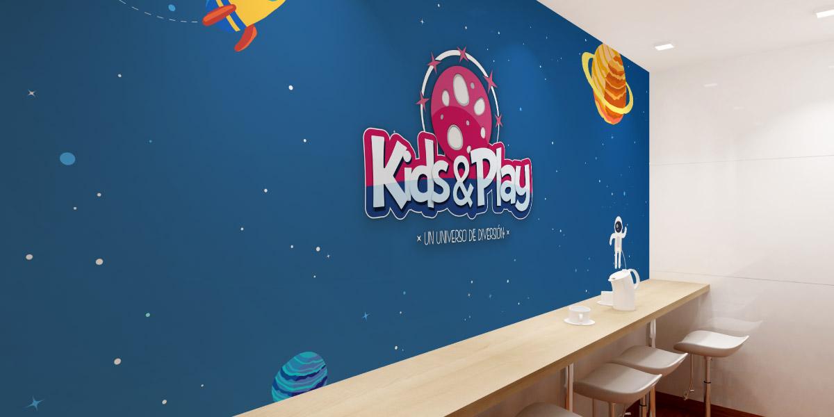 Diseño parque ocio infantil