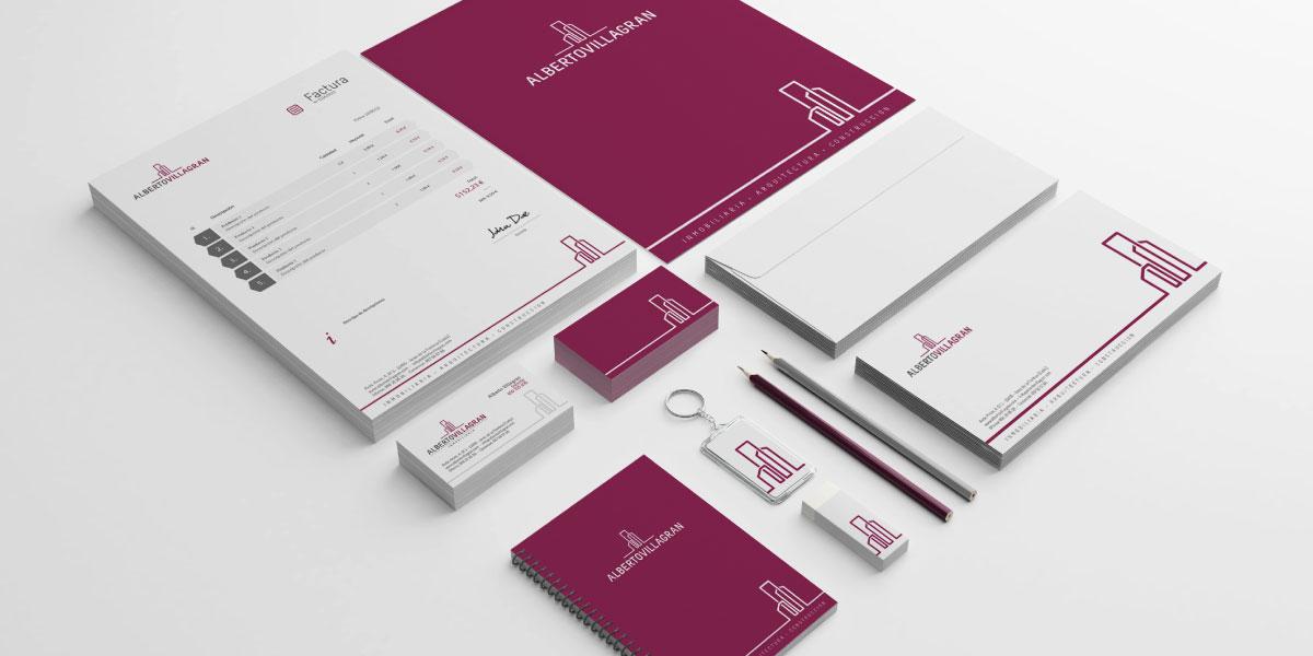 Diseño branding Inmobiliarias