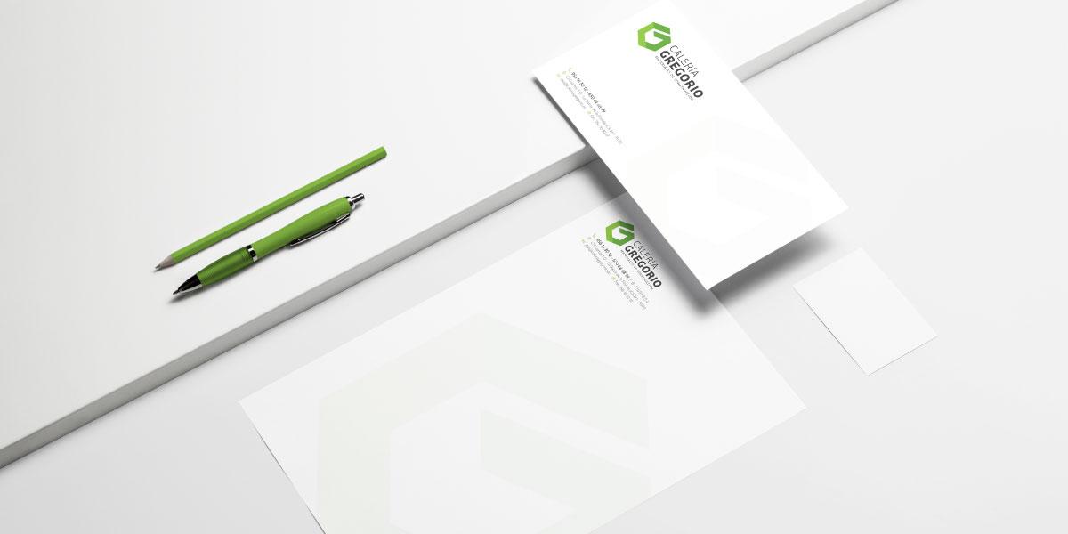 Diseño identidad empresa materiales construcción