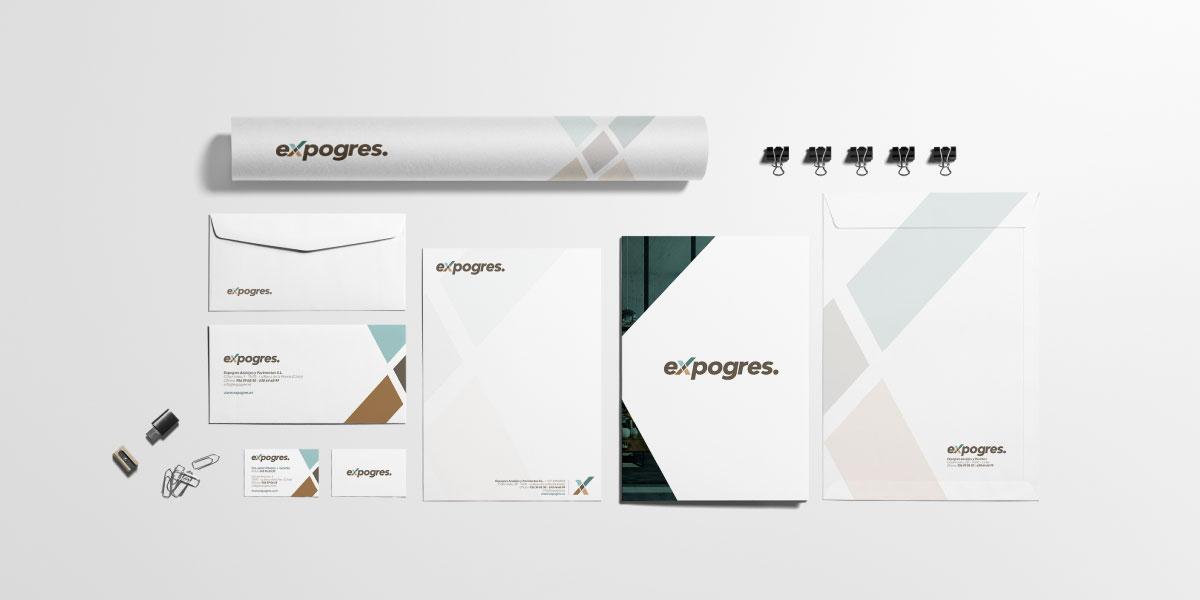 Diseño identidad corporativa empresa